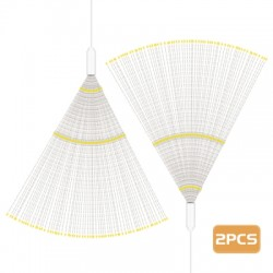 2PCS LH - BOM - YHD150WW LED Starburst String Lamps