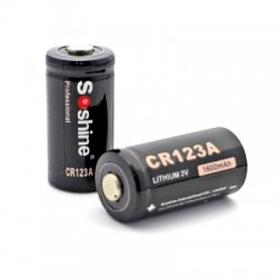 Soshine CR123A Battery