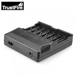 TrustFire TR - 012 LCD Display Charger AC110 - 240V 6-slot