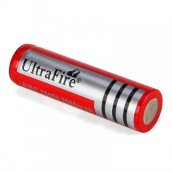 UltraFire 18650 3.7V Real Capacity 3000mAh Rechargeable Lithium-ion