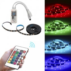 BRELONG Smart APP WiFi SMD5050 RGB Epoxy Waterproof Light Strip 1 Meter 30LED